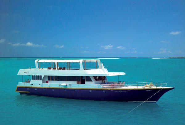 Les Maldives d'île en île - Croisière à bord du Maha
