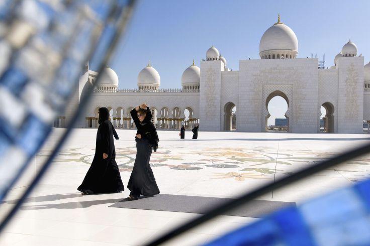 Mosquée Cheikh Zayed - Abou Dhabi - Emirats Arabes Unis