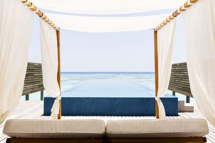 Notre villa privée en famille - LUX* Maldives, l'appel du lagon