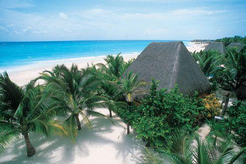 Séjour au Mexique : -40% sur les palapas du Mahekal Beach Resort: réservez vite  !