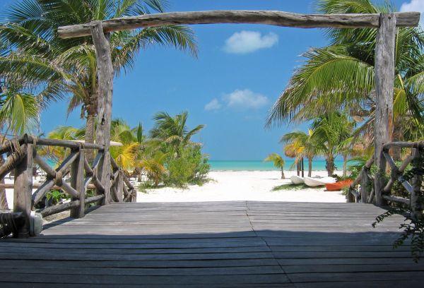 Séjour au Mexique : Holbox, une île, une plage ... le Mexique à prix doux