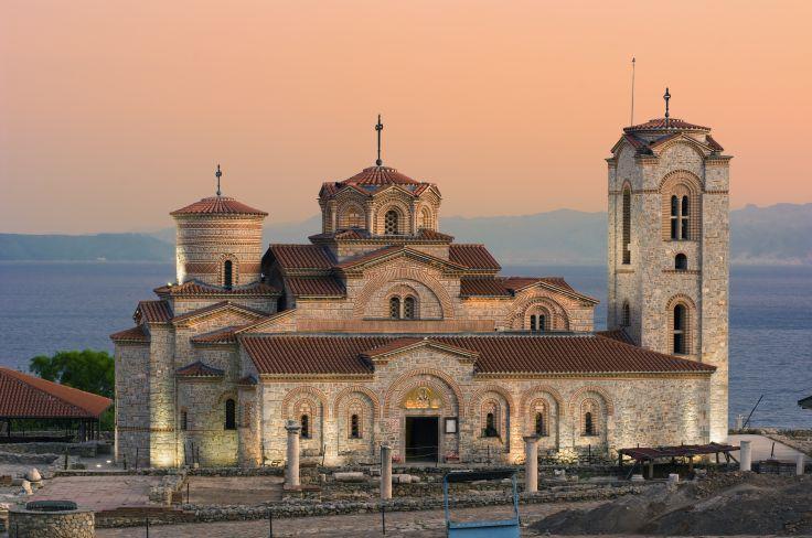 Église Saint-Panteleimon de Nerezi - Ohrid - Macédoine