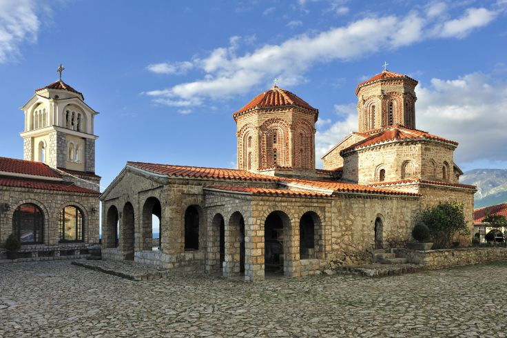 Monastère Saint-Naum - Ohrid - Macédoine