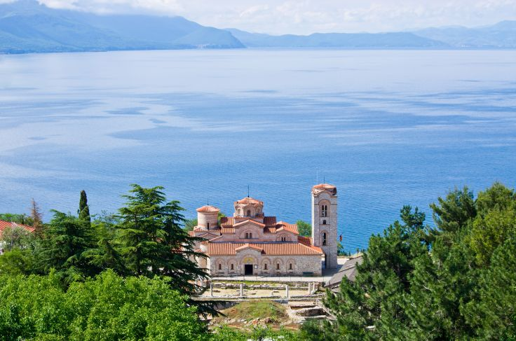 Monastère Saint-Pantaleimon d'Ohrid - Macédoine