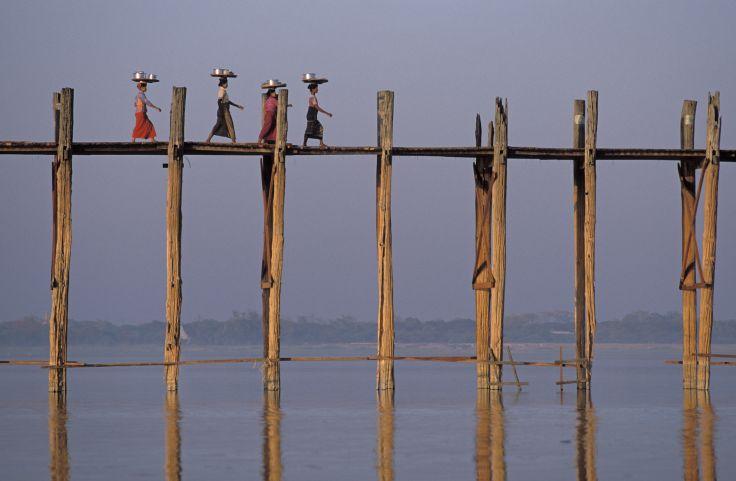Amarapura - Région de Mandalay - Birmanie