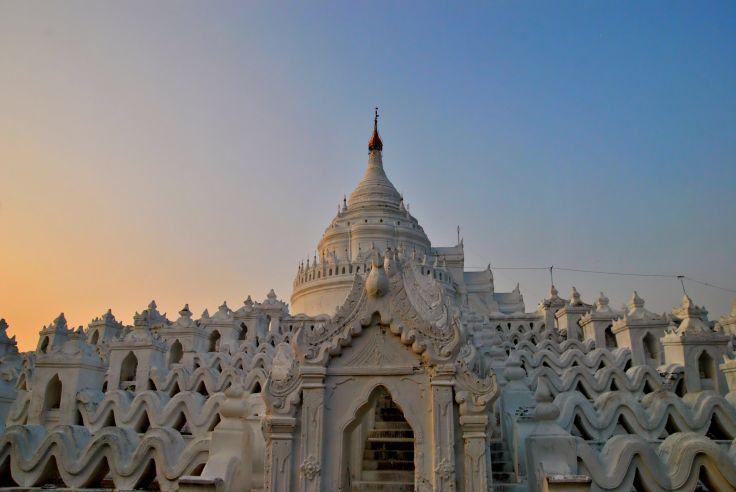 Pagode Hsinbyume - Mingun - Birmanie