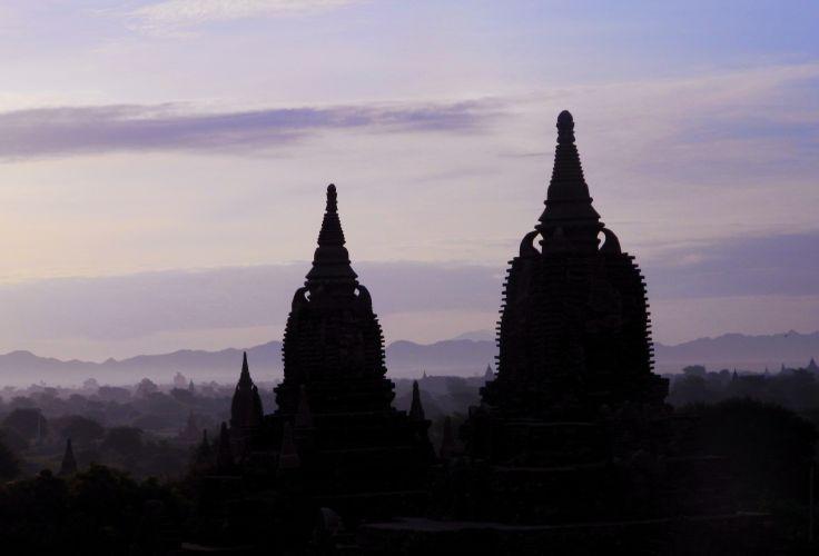 Temple de Bagan - Birmanie