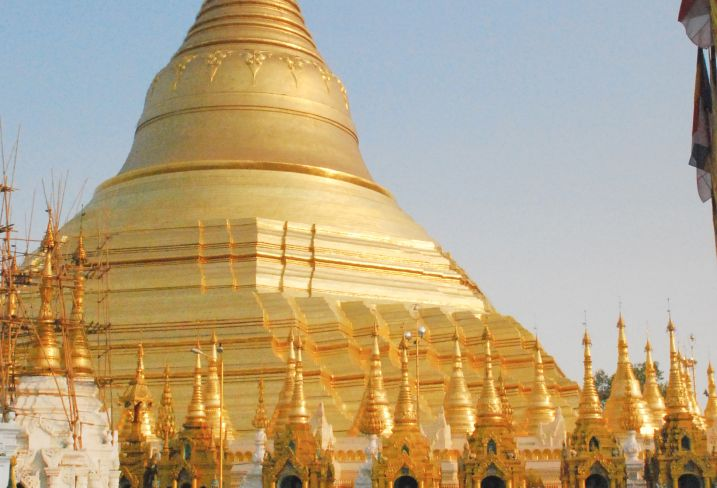 Pagode de Shwedagon - Rangoon - Birmanie
