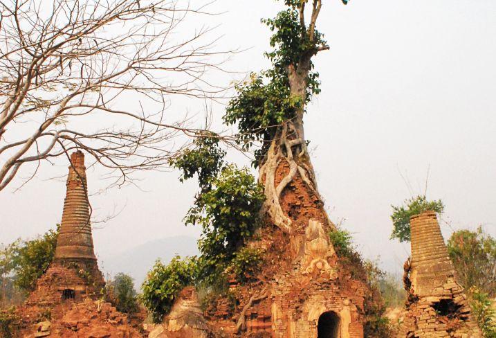 Shwe Inn Thein - Inn Dein - Lac Inle - Birmanie