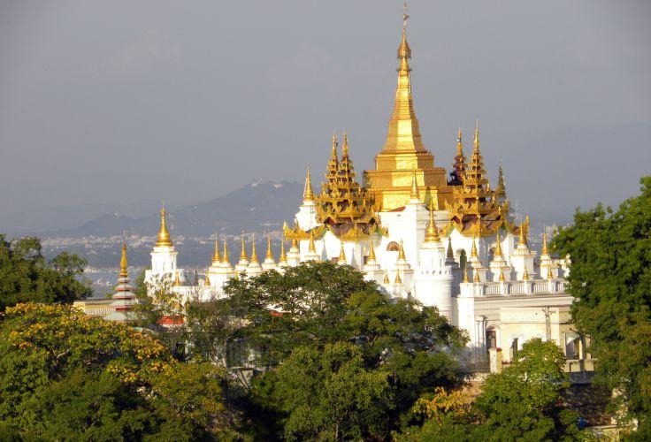 Navigation sur l'Irrawaddy - Ava - Région de Mandalay - Birmanie