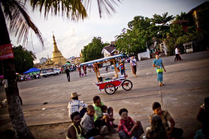 Botahtaung Pagoda - Rangoon - Birmanie