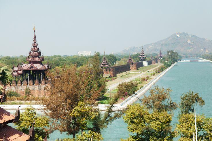 Mandalay Hill - Birmanie