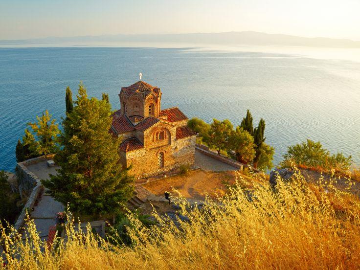 Église Saint-Jean de Kaneo - Ohrid - Macédoine