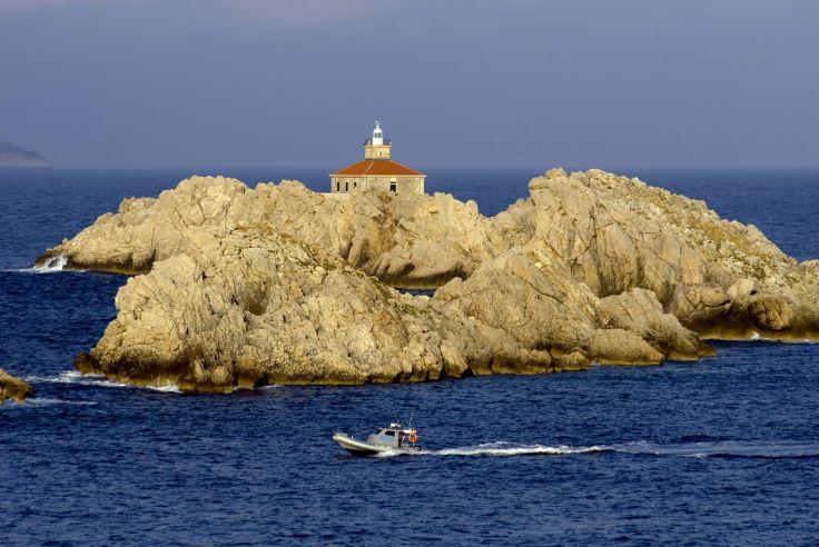 Grebeni islands - Région de Dubrovnik - Croatie