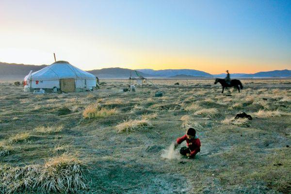 Mongolie - Lune de miel sous la yourte