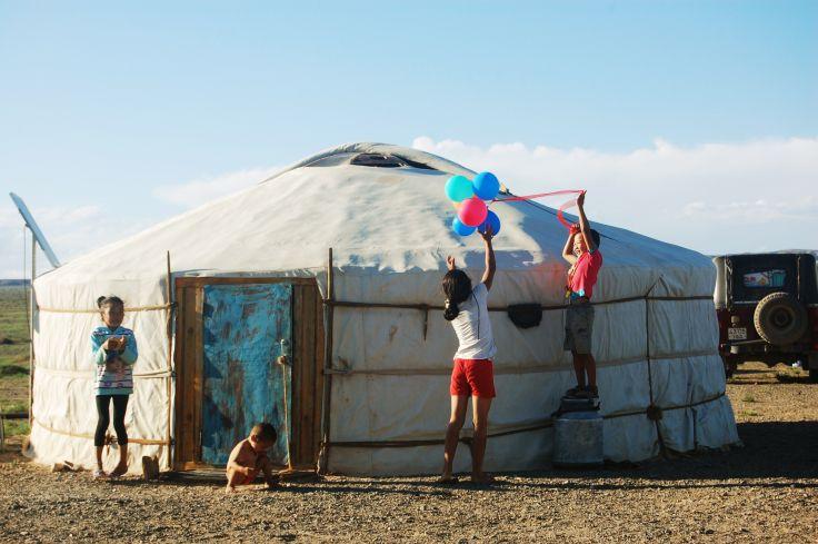 Yourte traditionnelle dans le Désert de Gobi - Mongole