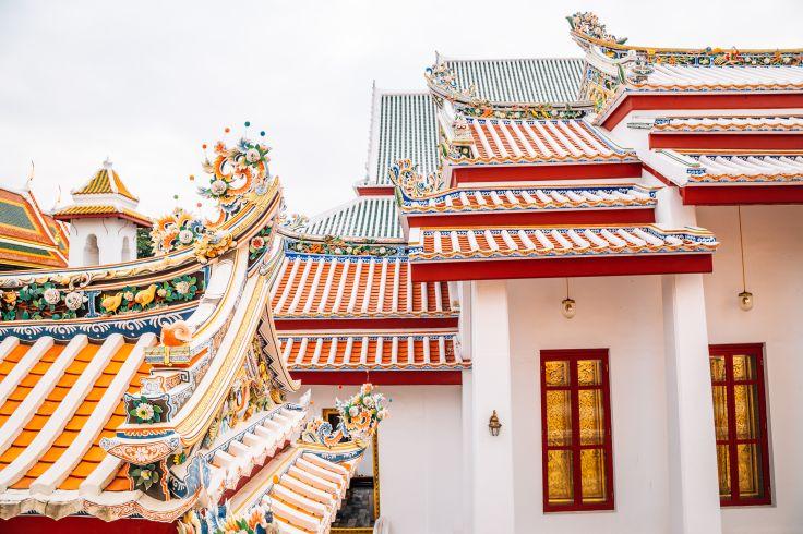 Wat Bowonniwet temple - Bangkok - Thaïlande