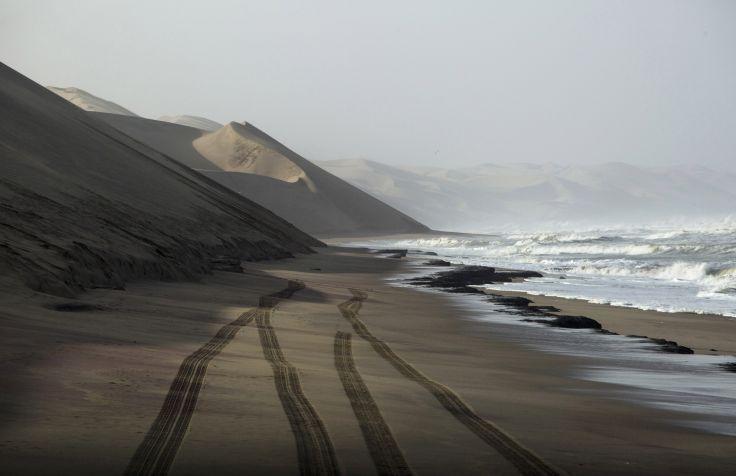 Sandwich Harbor - Parc national du Namib-Naukluft - Namibie