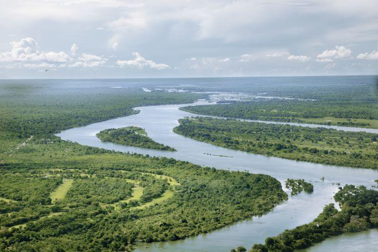 Fleuve Zambèze - Victoria Falls - Zimbabwe