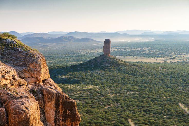 Vingerklip - Damaraland - Namibie