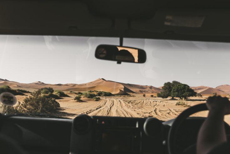 Sossusvlei - Parc national de Namib-Naukluft - Namibie