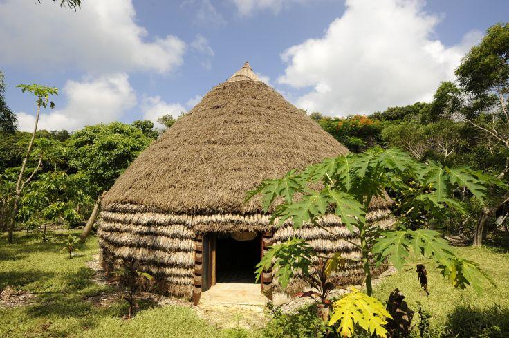 Accueil en tribu chez Bella - Lifou - Iles Loyauté