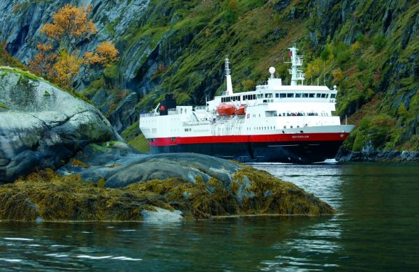 La côte norvégienne à bord de l'Express Côtier