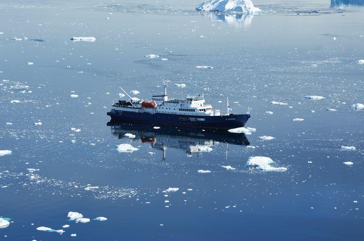 Le Plancius - Antarctique