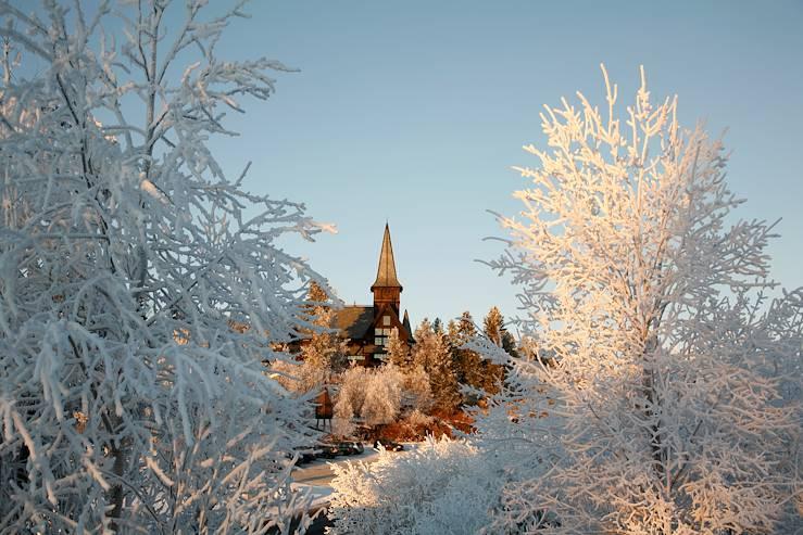Chapelle d'Holmenkollen - Oslo - Ostlandet - Norvège