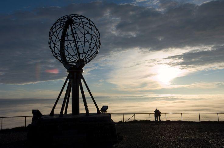 Le globe du Cap Nord - Magerøya - Comté de Finnmark - Norvège