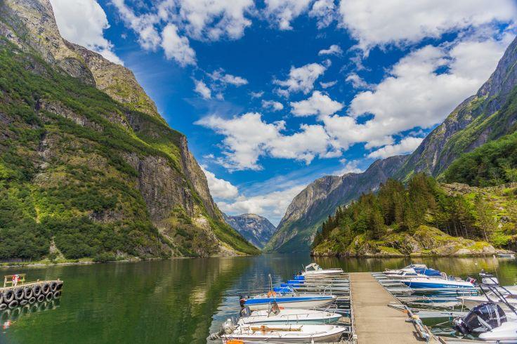 Nærøyfjord - Comté de Sogn og Fjordane - Norvège