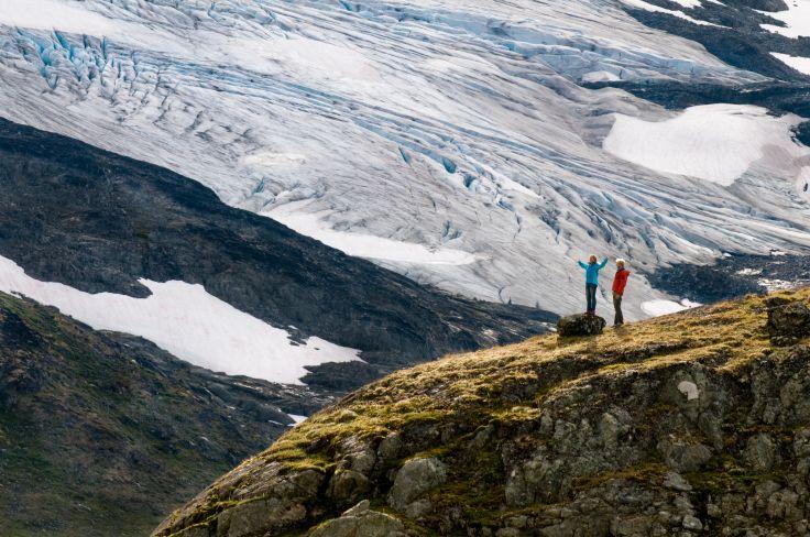 Randonnée dans le parc national de Jotunheimen - Norvège