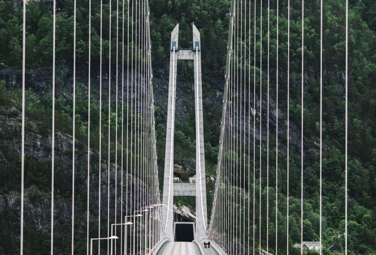 Pont d'Hardanger - Région de Bergen - Norvège