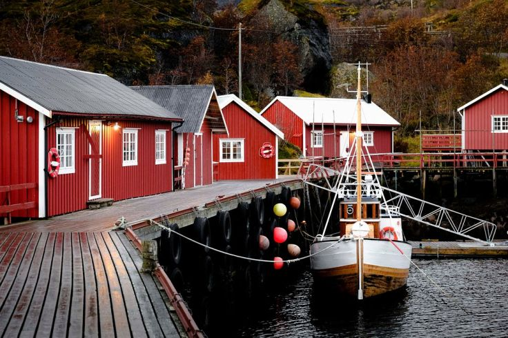 Nusfjord - Norvège