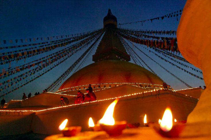Stoupa - Bodhnath - Népal
