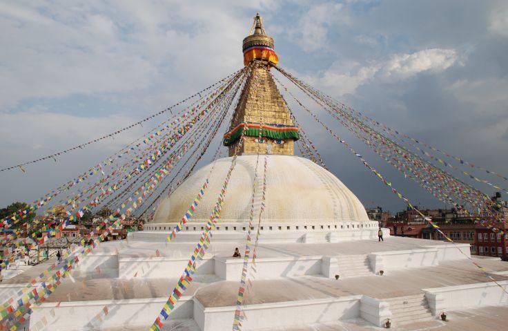Stupa de Bouddhanath - Katmandou - Népal