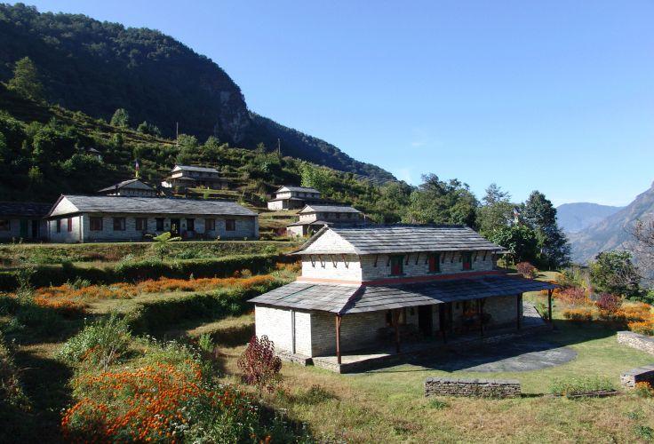 Dhampus - Népal