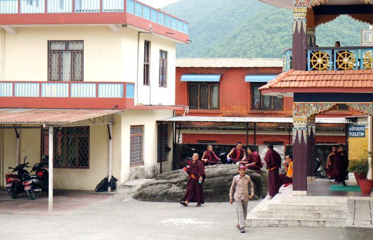 Monastère à Pokhara - Région des Annapurna - Népal