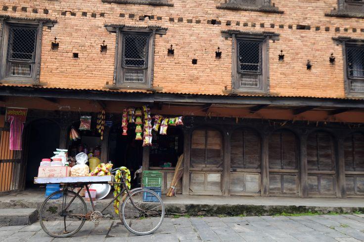Dans les rues de Pokhara - Région des Annapurna - Népal