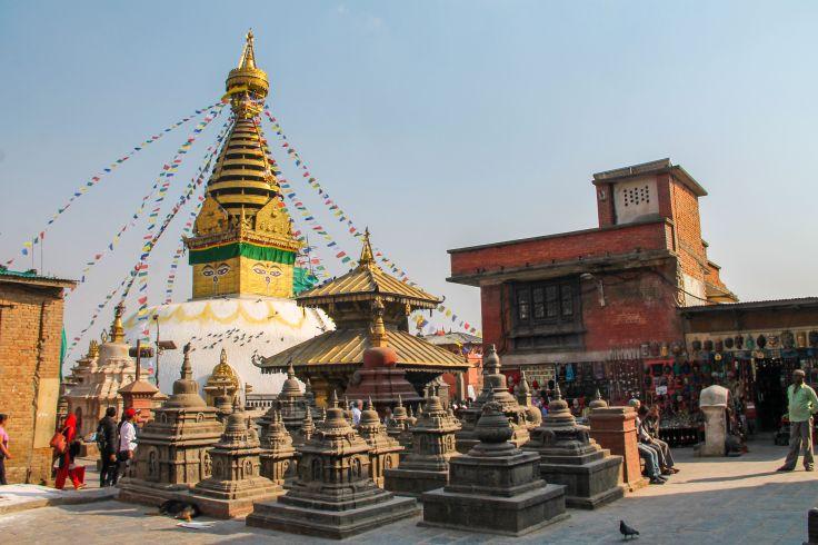 Temple de Swayambunath - Katmandou - Népal