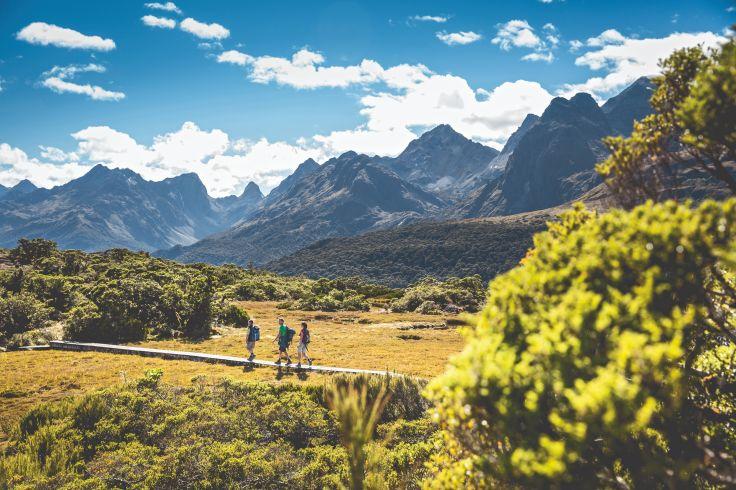 Routeburn Track - Fiordland - Nouvelle-Zélande