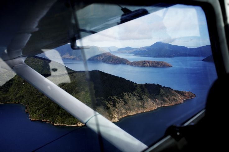 Marlborough Sounds - Ile du Sud - Nouvelle Zélande
