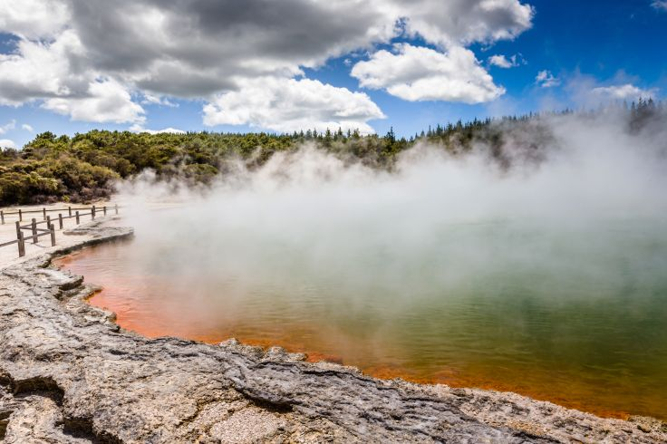Parc géothermique de Wai-O-Tapu - Ile du Nord - Nouvelle-Zélande
