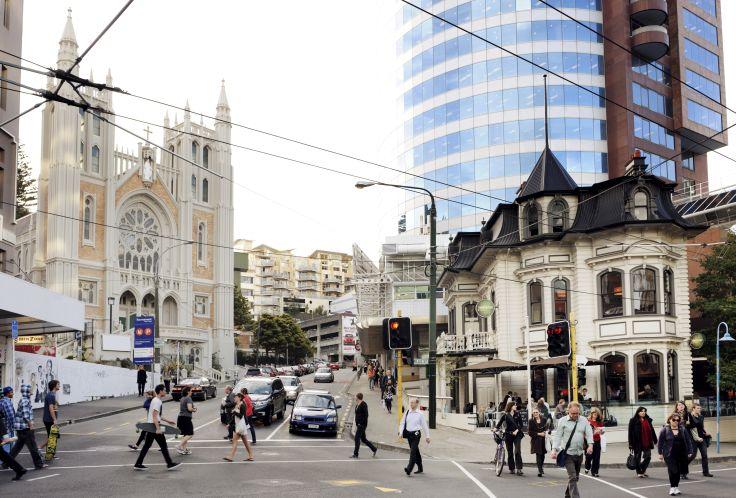 Wellington - Ile du Nord - Nouvelle-Zélande
