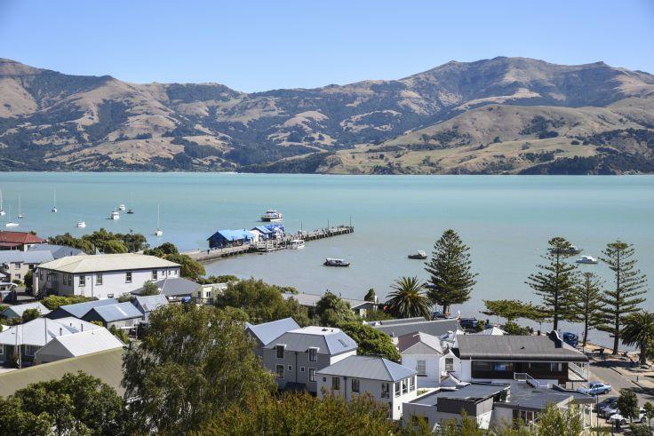 Akaroa - Ile du Sud - Nouvelle-Zélande