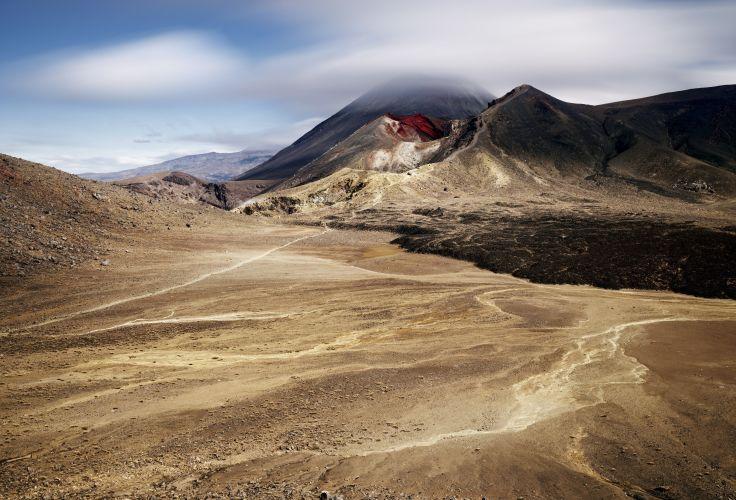 Mont Ngauruhoe - Parc national de Tongariro - Île du Nord - Nouvelle-Zélande
