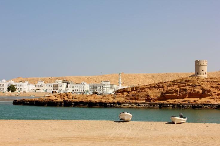 Le port du Sur - Oman