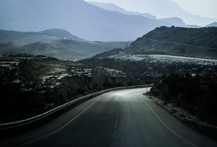 Jebal Shams - Monts Hajar - Oman