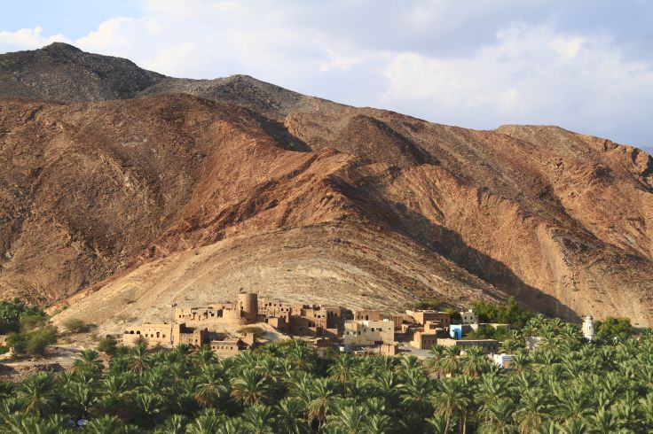 Village Birkat Al Mawz - région de Dakhiliyah - Oman