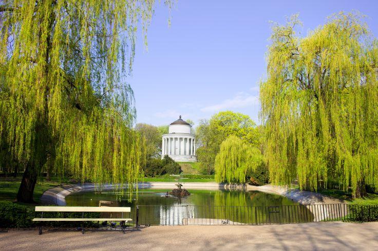 Jardin Anglais - Varsovie - Pologne
